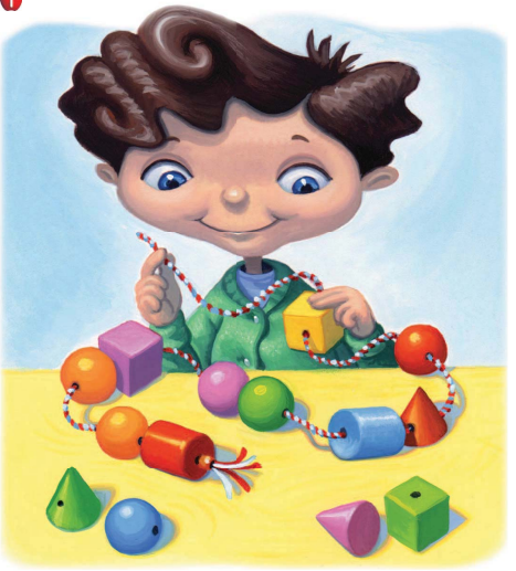 Go Math Grade K Answer Key Chapter 10 Identify and Describe Three-Dimensional Shapes 10.9 2