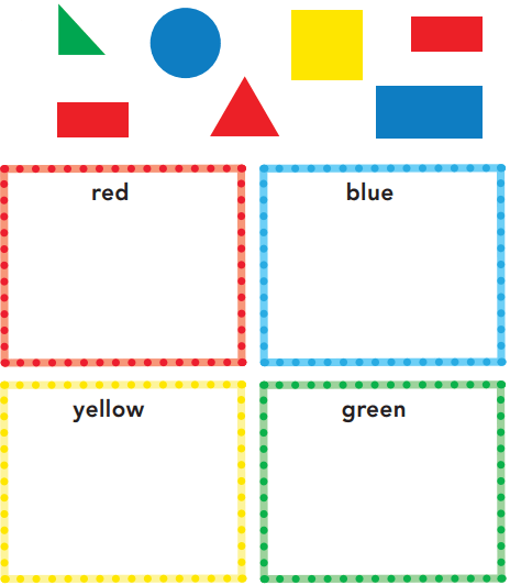 Grade K Go Math Answer Key Chapter 12 Classify and Sort Data 12.1 2