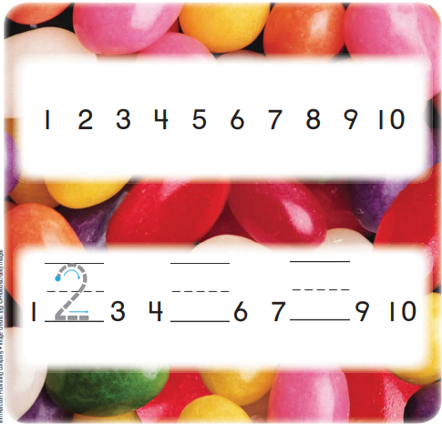 Grade K Go Math Answer Key Chapter 4 Represent and Compare Numbers to 10 4.4 1