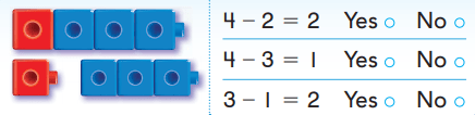 Grade K Go Math Answer Key Chapter 6 Subtraction 6.4 12
