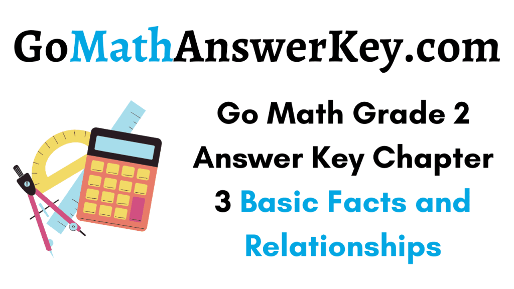 Go Math Grade 2 Answer Key Chapter 3