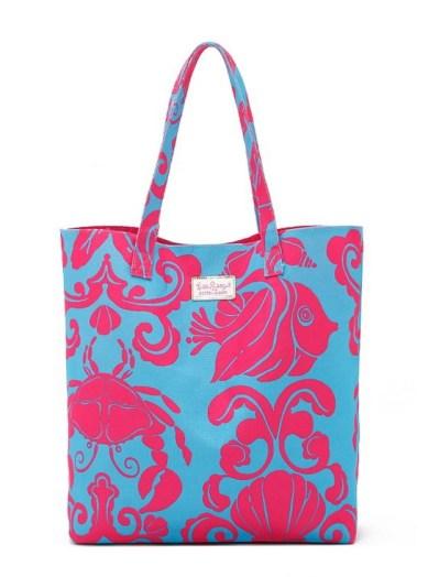 részben rózsaszínű táska