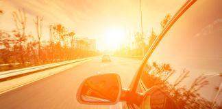 Car in summer