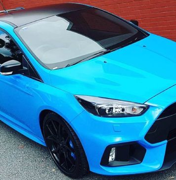 Ford Focus ST Car Wrapping