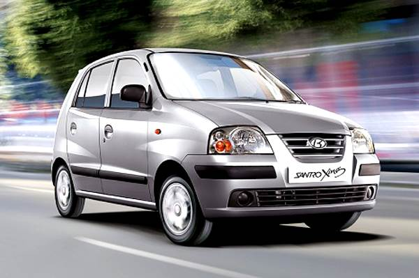 10 Iconic Discontinued Cars In India | Hyundai Santro Xing