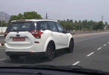 Mahindra XUV 500 BS6 Spied Testing