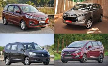 Top 5 Best Selling MPVs In India | October 2019