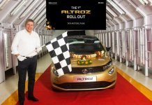 Tata Altroz rolled out from the Pune plant