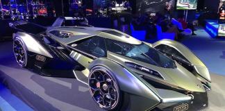 Lamborghini Reveales V12 Vision Gran Turismo Concept