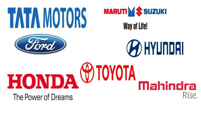 Top Automobile Brands In India