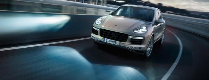 Porsche Cayenne Coupe Headlights