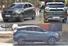 2020 Tata Nexon Facelift Caught Undisguised. Ready for Launch