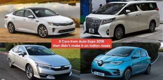 8 Cars from Auto Expo 2018 that didn't make it on Indian roads