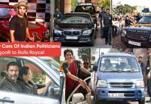 The Many Cars Of Indian Politicians. From WagonR to Rolls Royce!