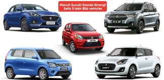 Maruti Suzuki Stands Strong: Sells 5 lakh BS6 vehicles