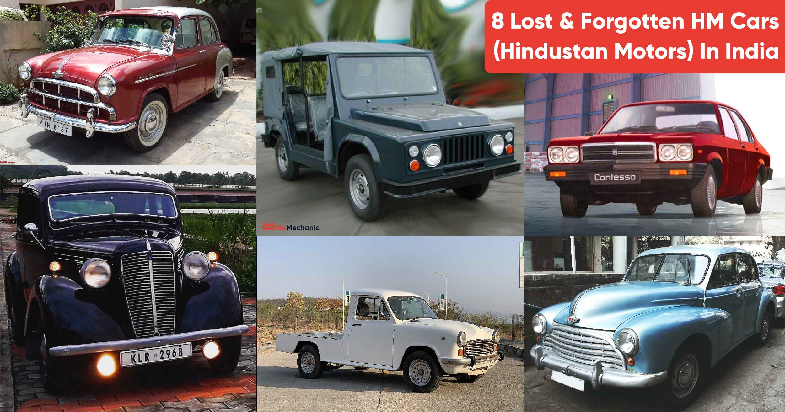 8 Hm Hindustan Motors Cars In India That Are Now Long Forgotten