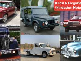 8 HM (Hindustan Motors) Cars In India That Are Now Long Forgotten