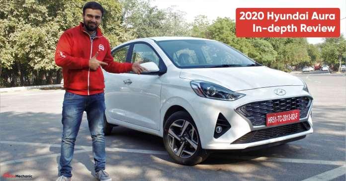 2020 Hyundai Aura Review   Is it better than the Maruti Dzire?