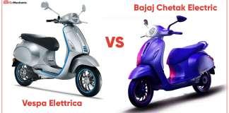 Vespa Elettrica vs Bajaj Chetak Electric