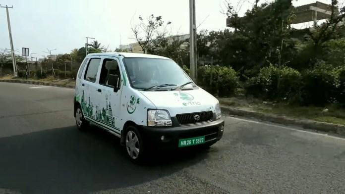 Maruti Wagon R converted to electric