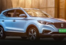 MG ZS EV new car 2020