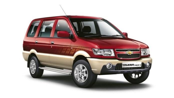 Chevrolet Tavera | Credits- Autocar experts