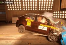 Tata Tigor and Tiago rated 4 stars at the Global NCAP