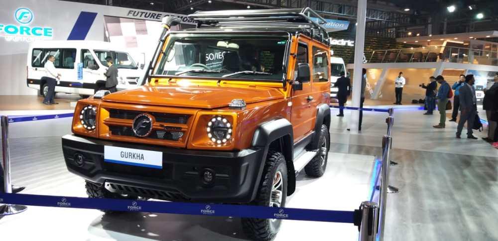 Force Gurkha Customised Unveiled: Auto Expo 2020 Day 1