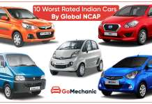 10 Worst Rated Indian Cars By Global NCAP