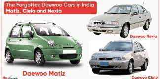 The Forgotten Daewoo cars in India | Matiz, Cielo and Nexia