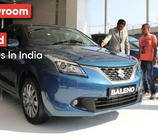 The Difference Between Ex-Showroom and On-Road Car Prices In India
