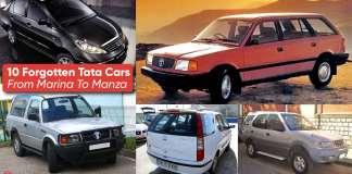 10 Forgotten Tata Cars In India: From Marina To Manza