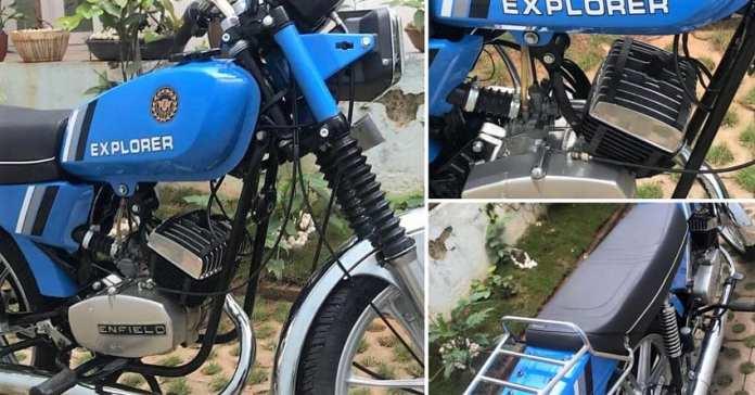 Royal Enfield Explorer   Forgotten Royal Enfield Bikes In India