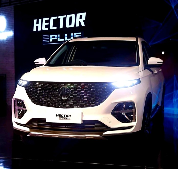 MG Hector Plus | Upcoming SUV Showcased at Auto Expo 2020