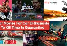 Car Movies For Car Enthusiasts To Kill Time In Quarantine