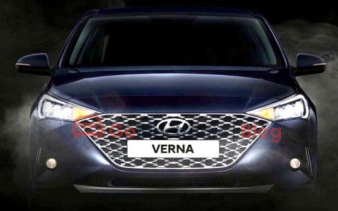 Hyundai Verna 2020 Front Fascia