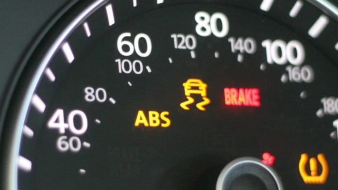 ABS (Anti-Lock Braking System) Dashboard Warning Light
