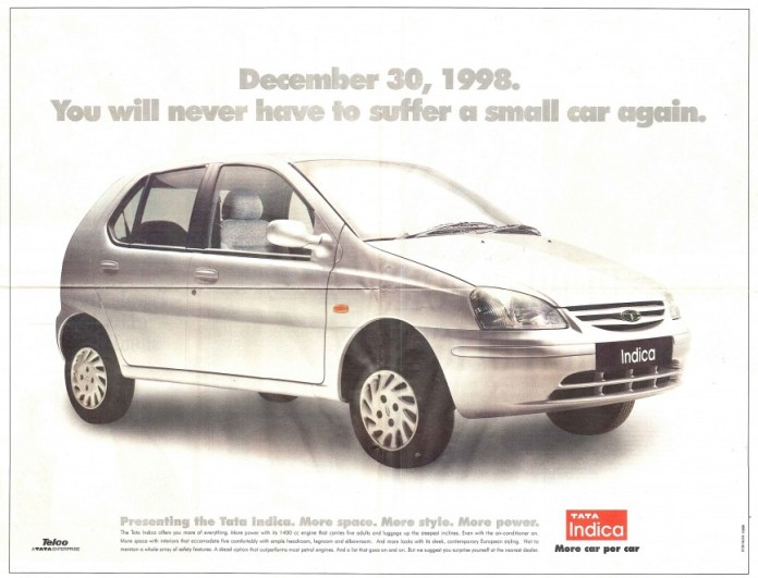 Tata Indica | Forgotten Hatchback In India