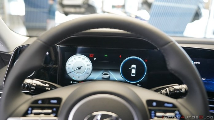 2021 Hyundai Elantra instrument cluster | Credits: IndianAutosBlog
