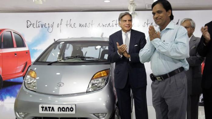 The first buyer of Tata Nano