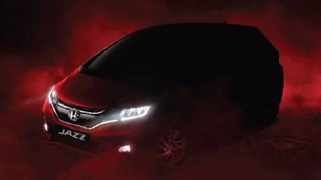 2020 Honda Jazz BS6 front fascia Officially Teased