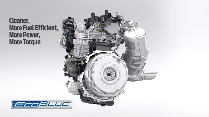 Ford's 2.0-litre ecoblue diesel engine