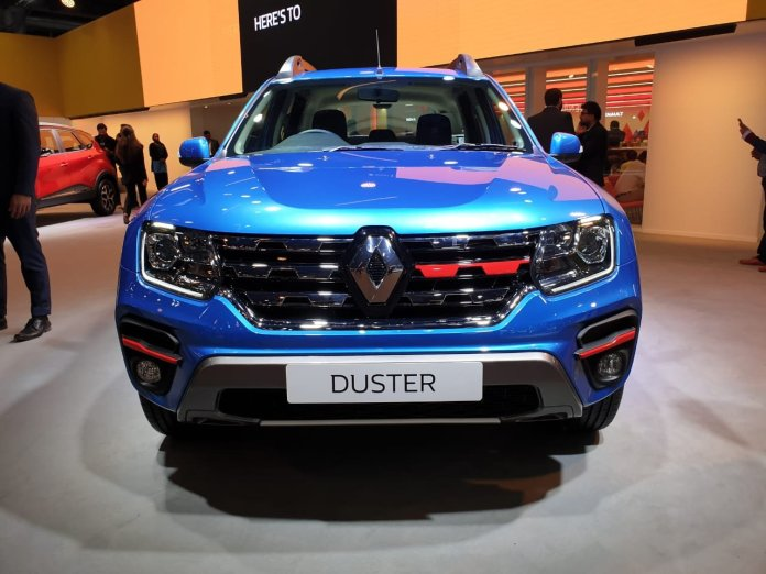 Renault Duster Turbo Petrol | Front Profile