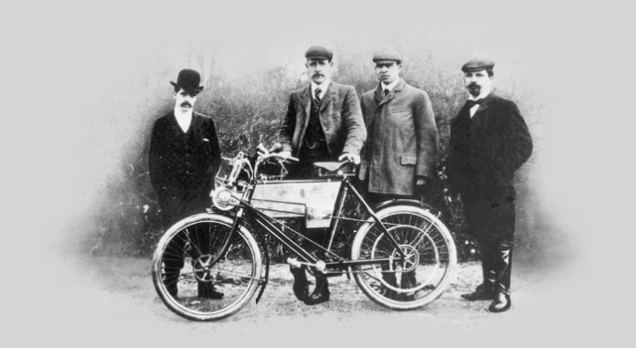 1901 RE's First Motorcycle