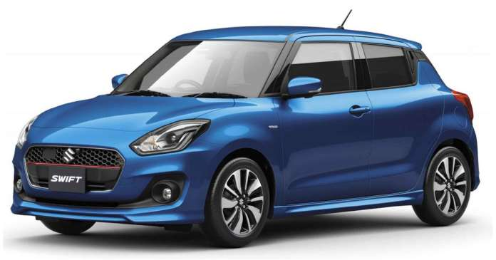 2020 Maruti Suzuki Swift Electric Blue