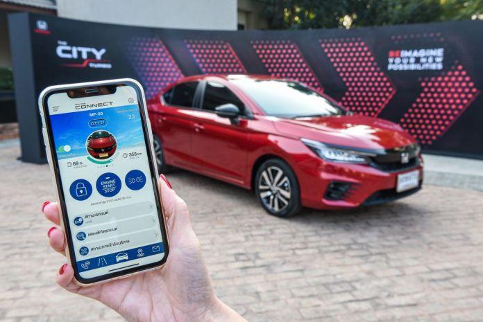 Honda Connect on the 2020 Honda City