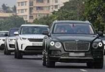 Mukesh Ambani Cars | Bentley Bentayga