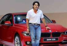 Sachin Tendulkar Car Collection