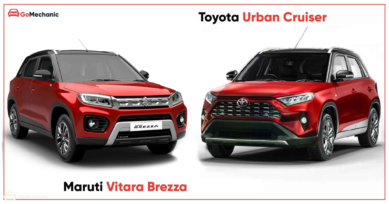 Toyota Urban Cruiser Launch Soon Maruti Begins Supplying Brezza