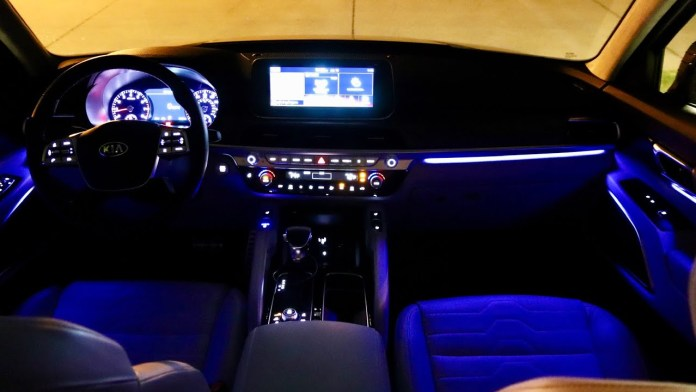 Adjustable Ambient Lighting System
